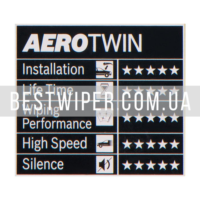 Комплект дворников Bosch Aerotwin AR500S - фото 5